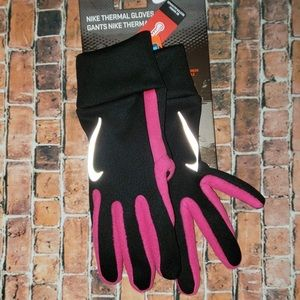 Nike Thermal Gloves Black Pink S Freedom To Scroll